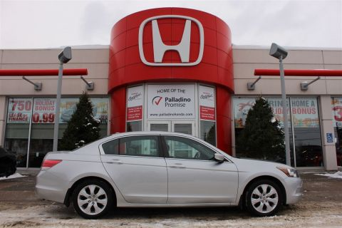 Pre-Owned 2010 Honda Accord Sedan EX-L - ELEGANT WOOD GRAIN INTERIOR - FWD 4dr Car
