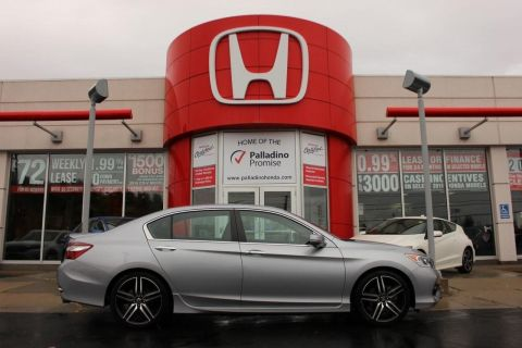 Pre-Owned 2016 Honda Accord Sedan Sport- HEATED SEATS+ BACKUP CAM & MORE! FWD 4dr Car