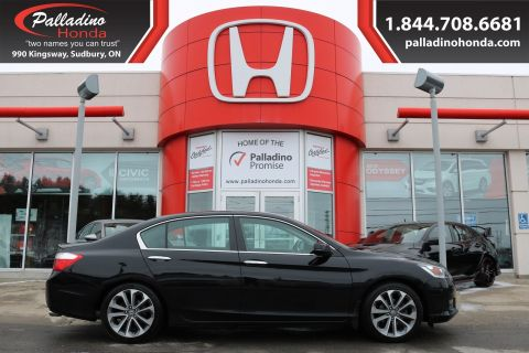 Pre-Owned 2014 Honda Accord Sedan Sport - BEAUTIFULLY DESIGNED INSIDE AND OUT - FWD 4dr Car
