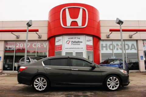 Pre-Owned 2015 Honda Accord Sedan Touring - 4 Cylinder NAVI Accident Free!! With Navigation