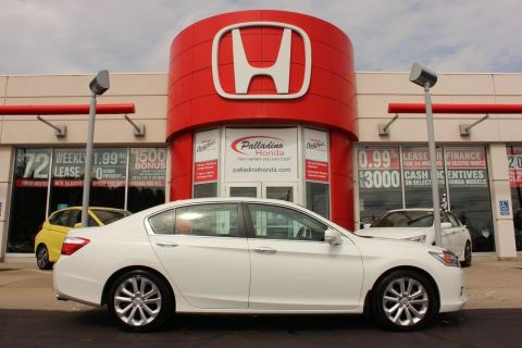 Pre-Owned 2014 Honda Accord Sedan Touring-NAV+ LEATHER+ HEATED SEATS+ BACKUP CAM With Navigation