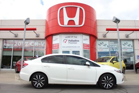 Pre-Owned 2013 Honda Civic Sdn Touring - SUMMER ROADTRIP READY - With Navigation