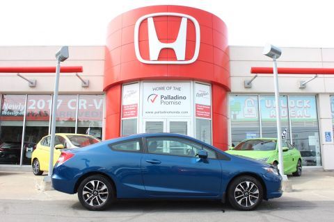 Pre-Owned 2013 Honda Civic Cpe LX - SLEAK SPORTY AND FUN TO DRIVE - FWD 2dr Car
