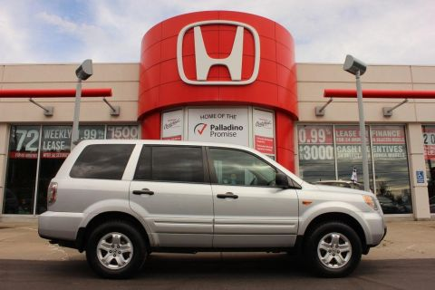 Pre-Owned 2007 Honda Pilot LX- FOUR WHEEL DRIVE+ THIRD ROW SEATING & MORE! 4WD