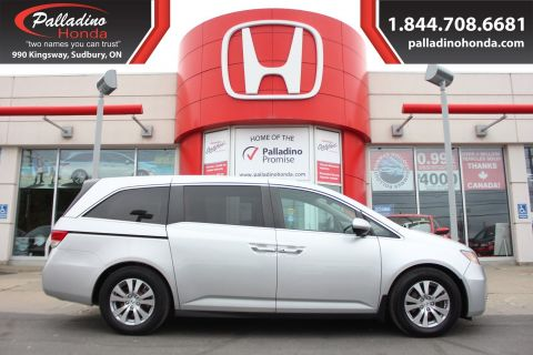 Pre-Owned 2014 Honda Odyssey FREE WINTER TIRES FWD Mini-van, Passenger