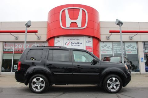 Pre-Owned 2014 Honda Pilot EX-L - DVD THE WHOLE FAMILY CAN ENJOY 4WD