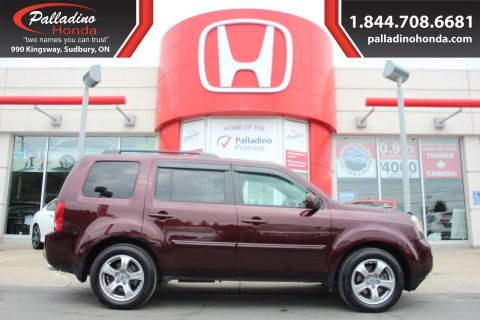 Pre-Owned 2015 Honda Pilot EX-L - LOADED WITH GREAT FEATURES - 4WD