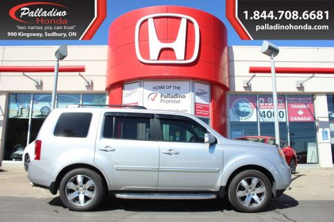 Pre-Owned 2015 Honda Pilot Touring With Navigation & 4WD