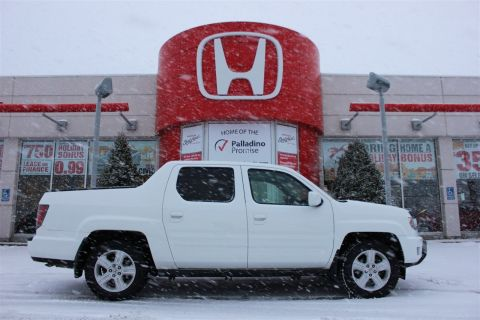 Pre-Owned 2012 Honda Ridgeline Touring With Navigation & 4WD