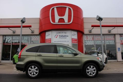 Pre-Owned 2007 Honda CR-V EX-L- LEATHER+ HEATED SEATS & MORE! 4WD