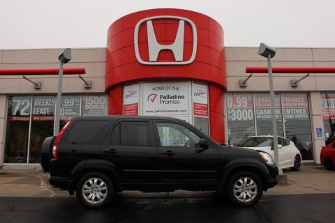 Pre-Owned 2005 Honda CR-V EX-L- AS TRADED 4WD