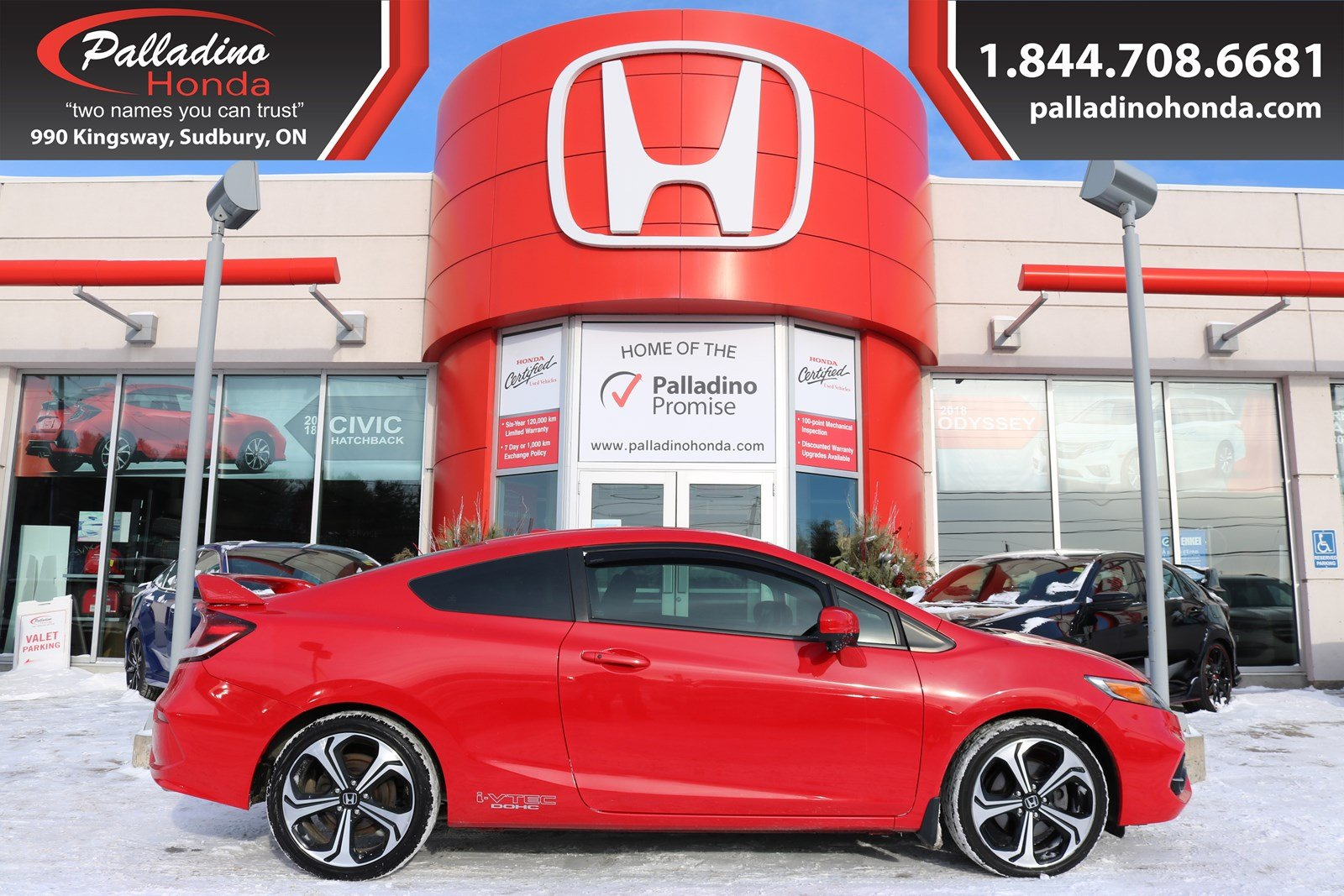 Pre-Owned 2015 Honda Civic Coupe Si - BEAUTIFULLY DESIGNED FULLY LOADED -