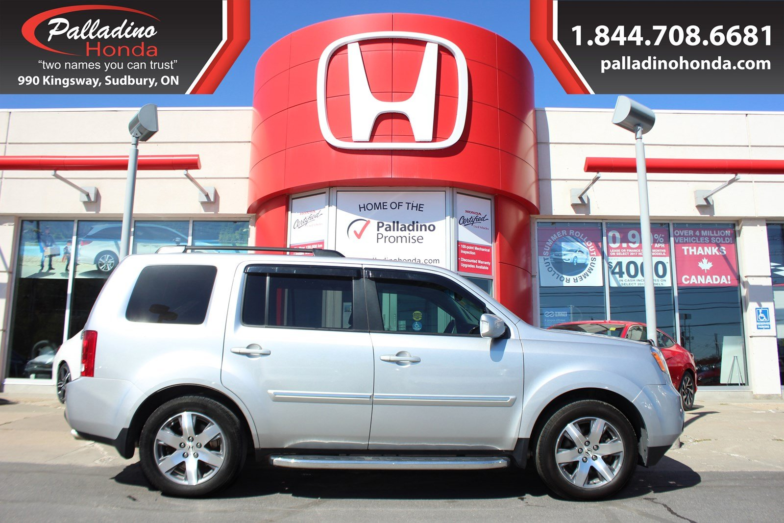 Pre-Owned 2015 Honda Pilot FULLY LOADED & BEST PRICE IN ONTARIO